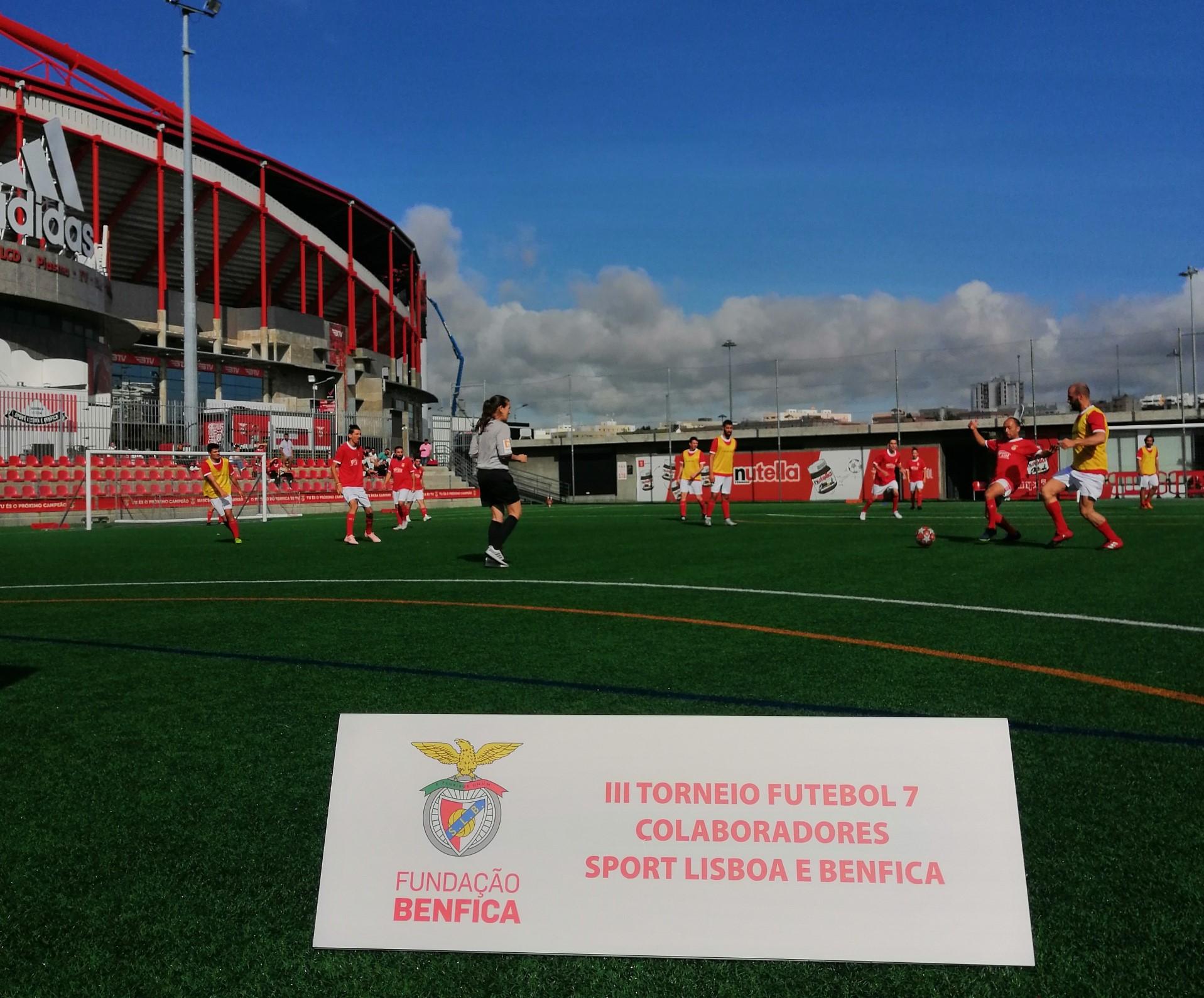 III Torneio de Futebol 7 Colaboradores Sport Lisboa e Benfica